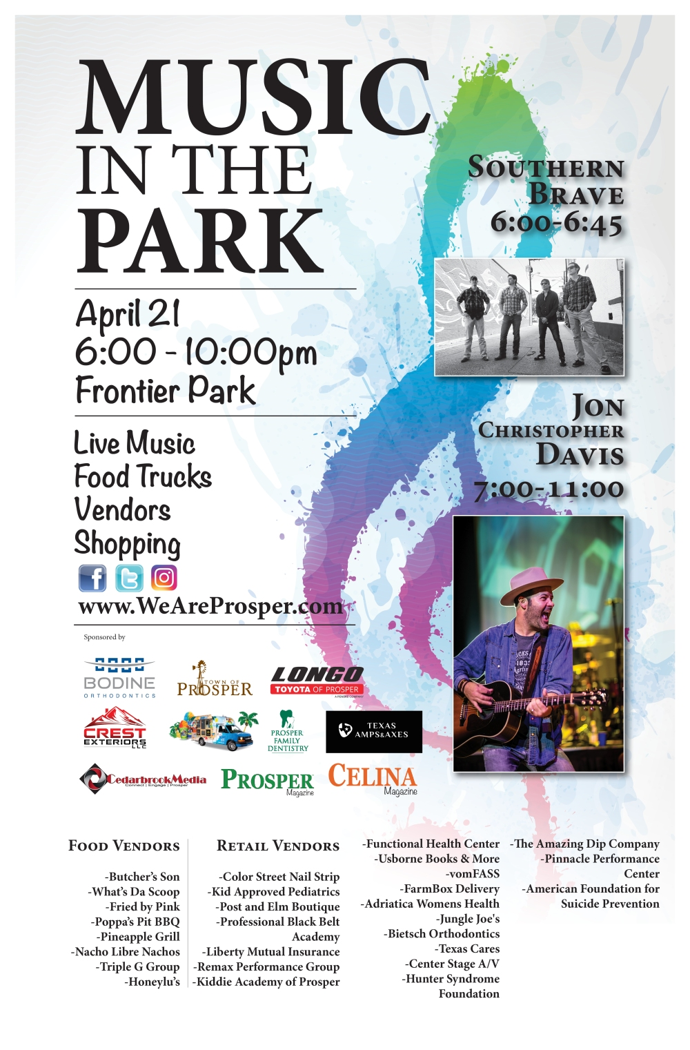 Music In The Park-EventFlyer